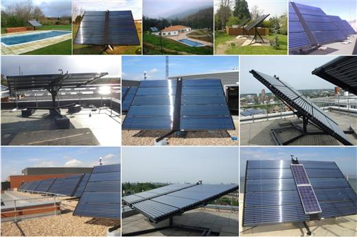solar heating tracking