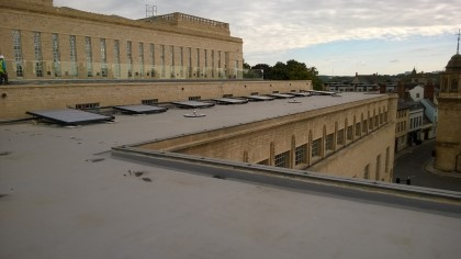New Bodleian Library Oxford Solar Panels