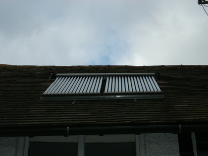 Service and repair of solar hot water systems in East Sussex