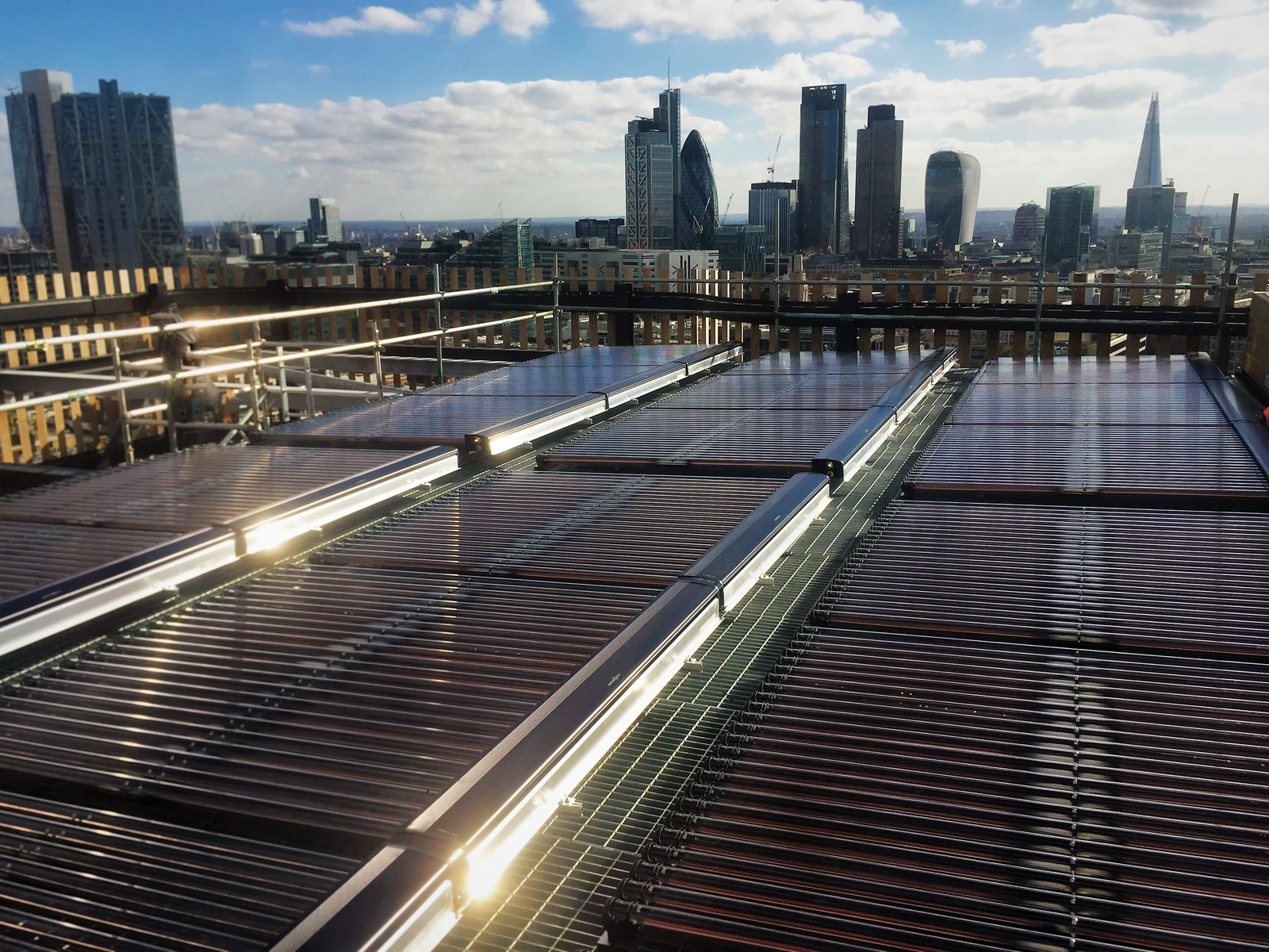Commercial Solar Thermal in new Old Street development